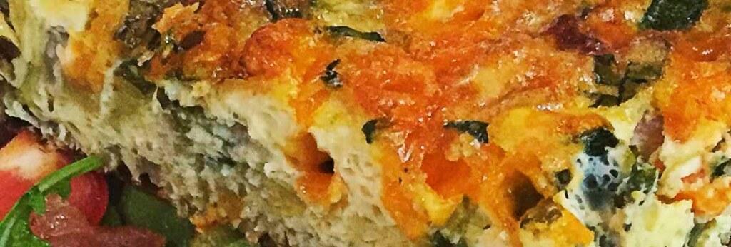 summer vegetable frittata